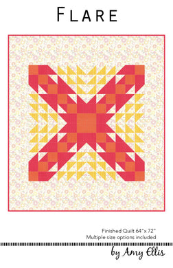 Flare Quilt Pattern