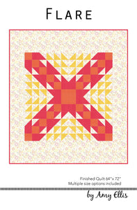 Flare Quilt Pattern –– Wholesale