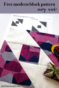 Floating Quilt Block Pattern