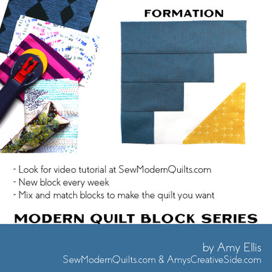 Formation Quilt Block Pattern