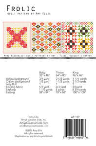Frolic Quilt Pattern –– Wholesale