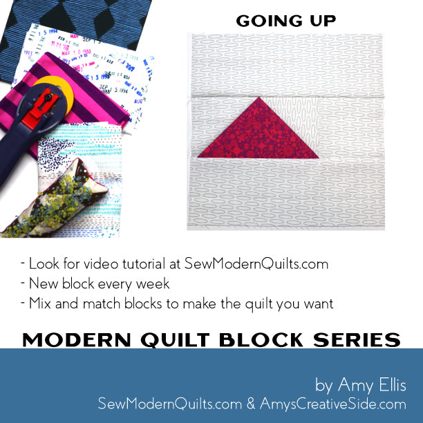 Going Up Quilt Block Pattern