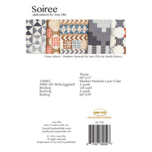 Soiree Quilt Pattern by Amy Ellis