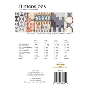 Dimensions by Amy Ellis