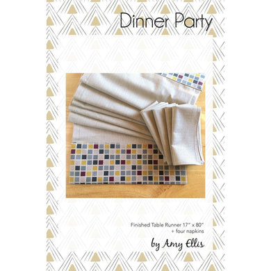 Dinner Party Pattern by Amy Ellis