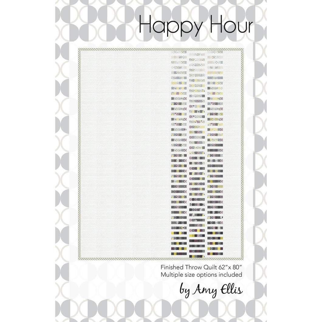 Happy Hour Quilt Pattern by Amy Ellis