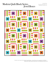 Jewel Boxes PDF Quilt Pattern