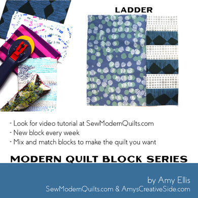 Ladder Quilt Block Pattern