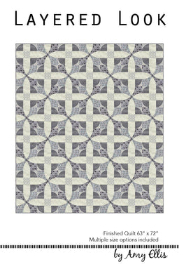 Layered Look Quilt Pattern - Wholesale