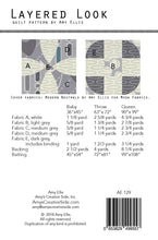 Layered Look PDF Quilt Pattern