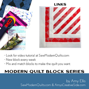 Links Quilt Block Pattern