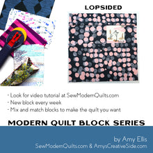 Lopsided Quilt Block Pattern