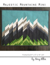 Majestic Mountains Mini Quilt Pattern by Amy Ellis