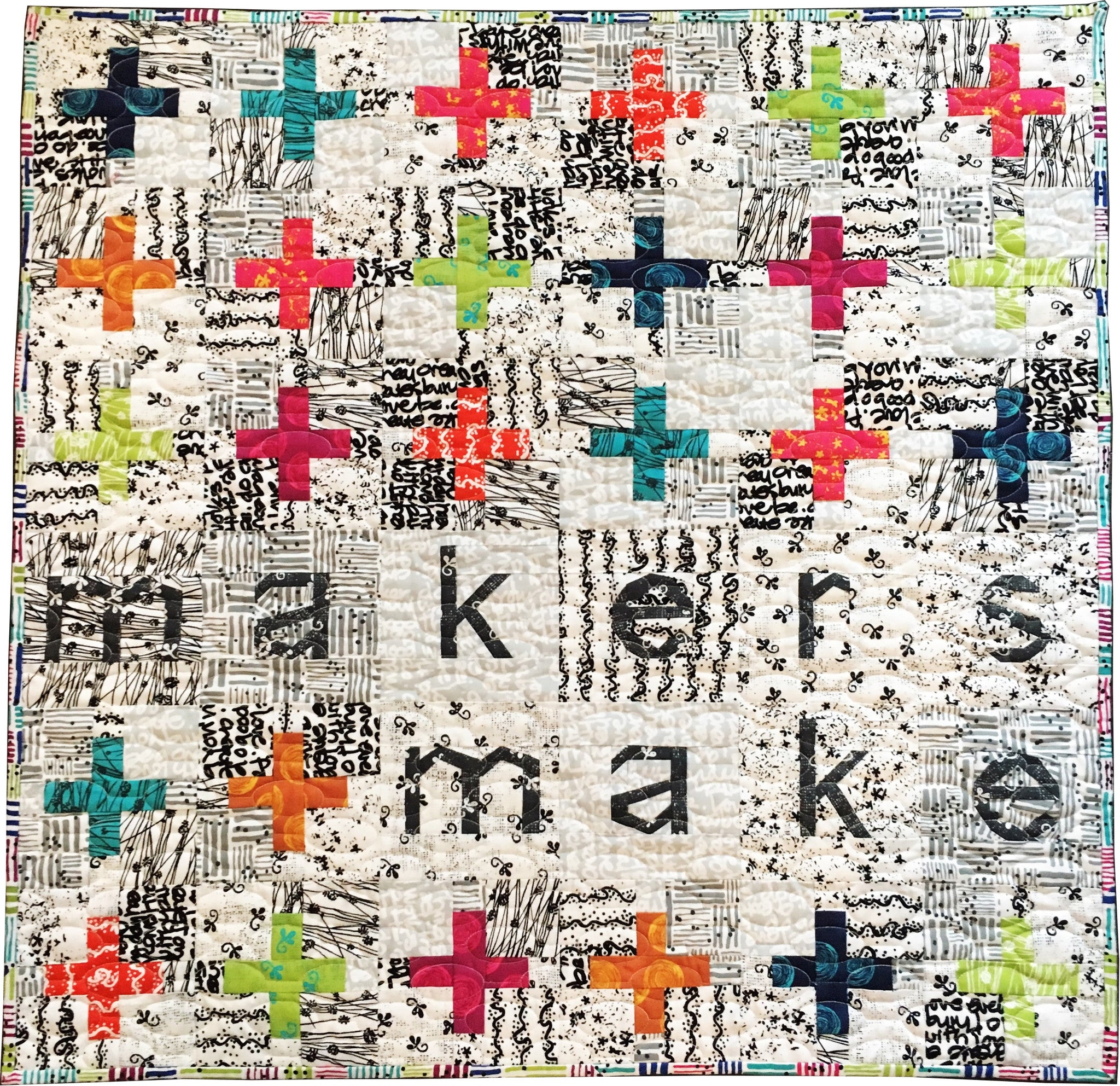 Makers Make Quilt Pattern Amy Ellis