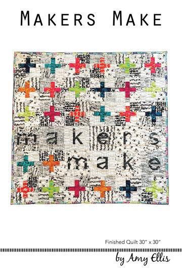 Makers Make Quilt Pattern –– Wholesale