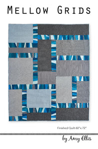 Mellow Grids Quilt Pattern -- Wholesale