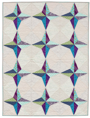 Mingle {Handmade Quilt by Amy Ellis}