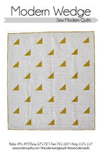 Modern Wedge Quilt Pattern -- Wholesale