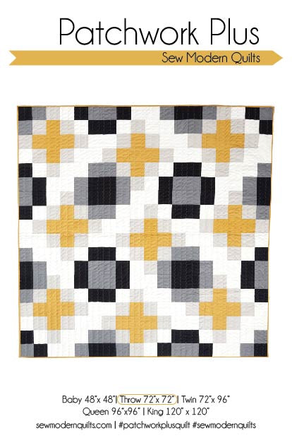 Patchwork Plus Quilt Pattern