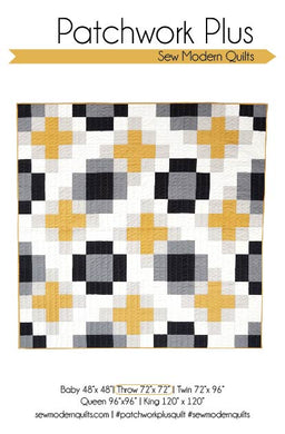 Patchwork Plus PDF Quilt Pattern