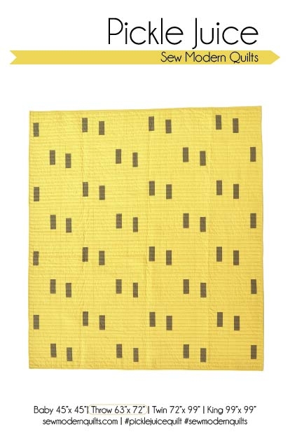 Pickle Juice Quilt Pattern