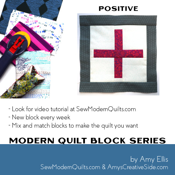 Positive Quilt Block Pattern