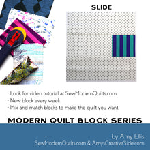 Slide Quilt Block Pattern
