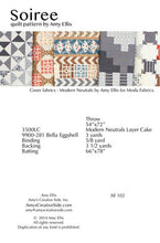Soiree Quilt Pattern –– Wholesale