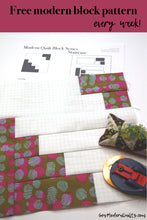 Staircase Quilt Block Pattern