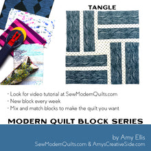 Tangle Quilt Block Pattern