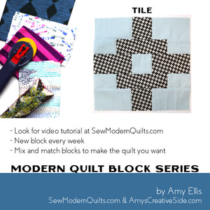 TIle Quilt Block Pattern
