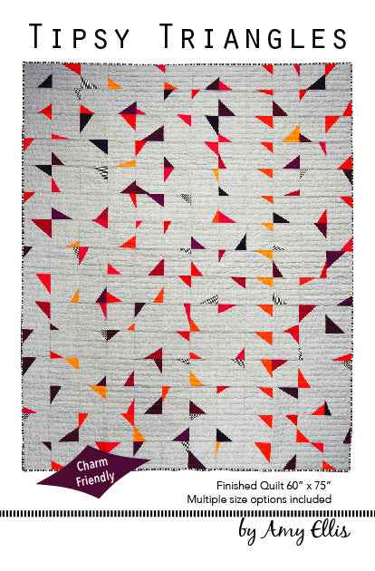 Tipsy Triangles PDF Quilt Pattern