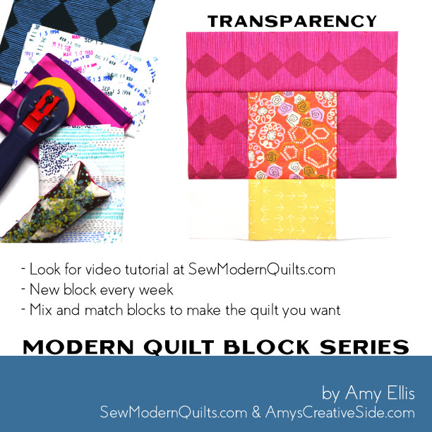 Transparency Quilt Block Pattern