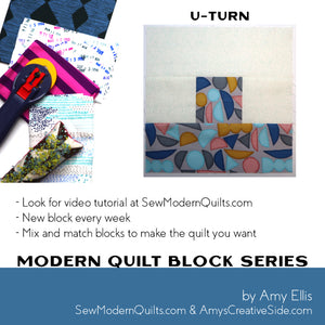 U-Turn Quilt Block Pattern