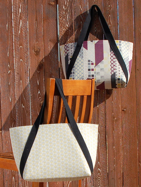 Uptown Tote Pattern by Amy Ellis