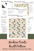 Modern Points PDF Quilt Pattern