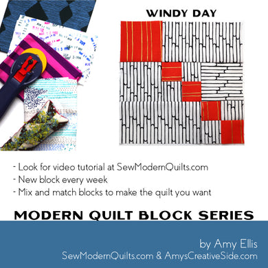 Windy Day Quilt Block Pattern