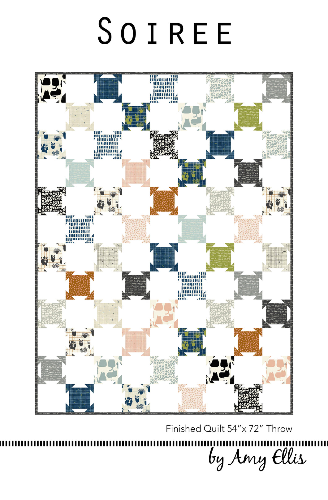 Soiree Quilt Pattern