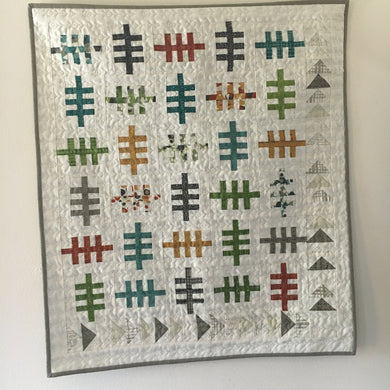 Wildwood {Handmade Quilt by Amy Ellis}