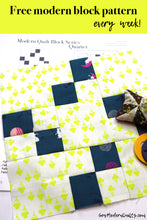 Quartet Quilt Block Pattern