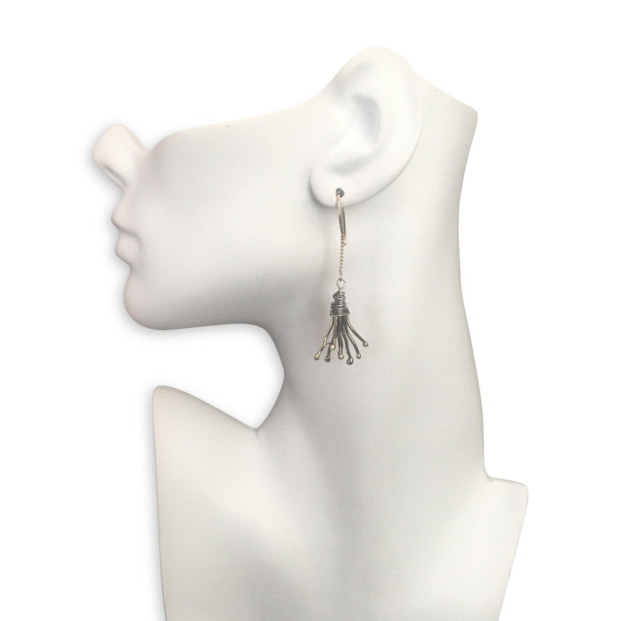 Tendril Earrings - Susan Rodgers Designs