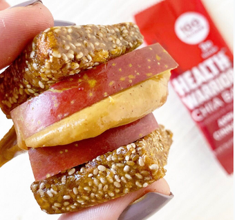 Apples and Peanut Butter with Chia Bar