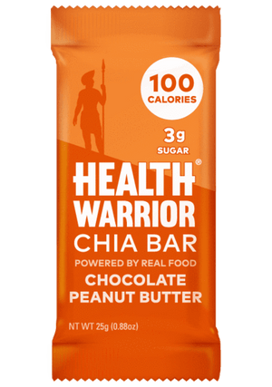 Health Warrior Chia Bars, Chocolate Peanut Butter , 1 Bar