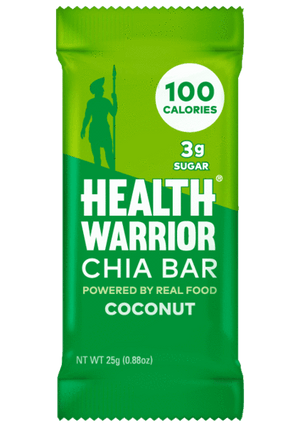 Health Warrior Chia Bars, Coconut, 1 Bar