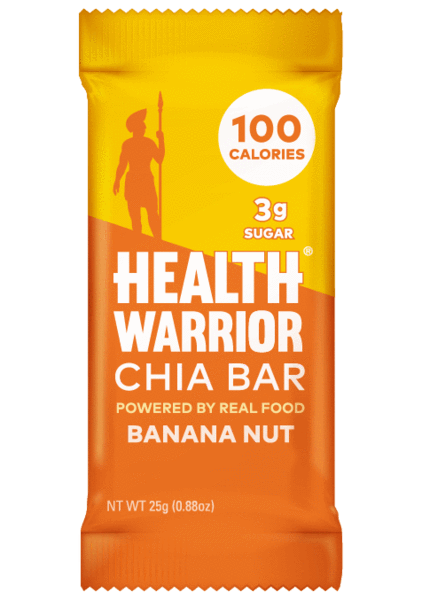 Health Warrior Chia Bars,  Banana Nut, 1 Bar