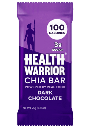 Health Warrior Chia Bars, Dark Chocolate, 1 Bar