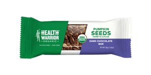 Health Warrior Pumpkin Seed Bars, Dark Chocolate, 1 Bar