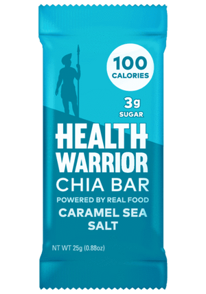 Health Warrior Chia Bars, Caramel Sea Salt, 1 Bar