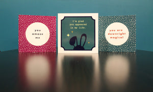 Say it all with these Astounding Greeting Cards