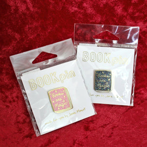 Books Are Magic Shimmer Pin